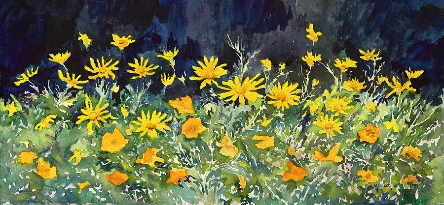 Yellow and Orange by Ken Marsden