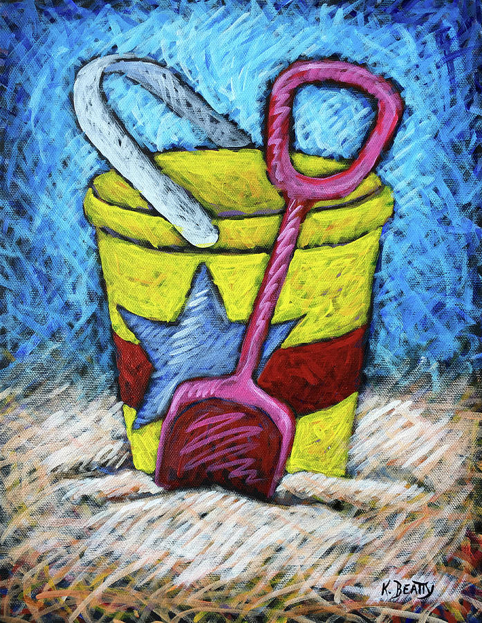 Yellow Bucket by Karla Beatty