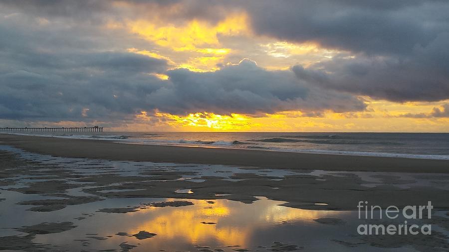 Yellow Burst Sunrise by Paddy Shaffer