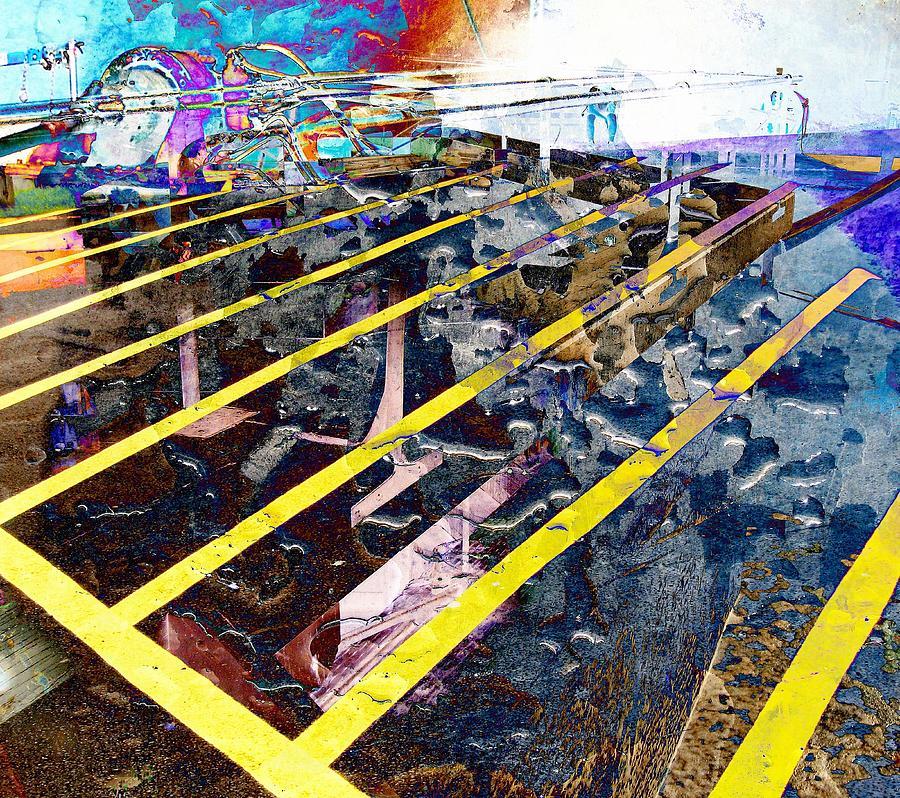Yellow Digital Art - Yellow by Dave Kwinter