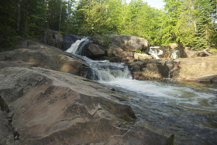 Marquette Photograph - Yellow Dog Falls 2 by Michael Peychich