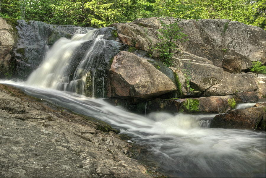 Marquette Photograph - Yellow Dog Falls 4 by Michael Peychich
