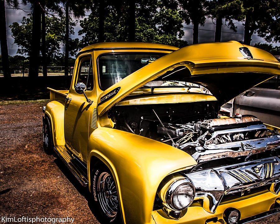Car Photograph - Yellow Fever  by Kim Loftis