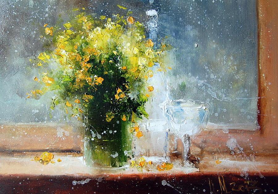 Igor Medvedev  Yellow-flowers-igor-medvedev