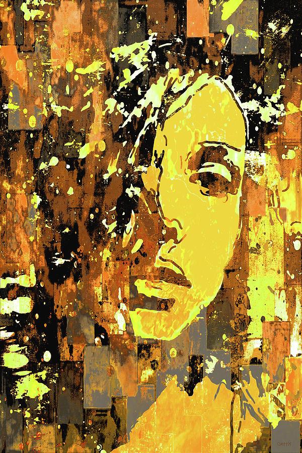 Yellow Portrait by Jeff Gettis