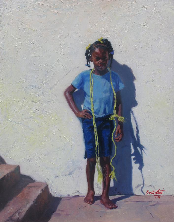 Sweet Painting - Yellow Rope by Colin Bootman