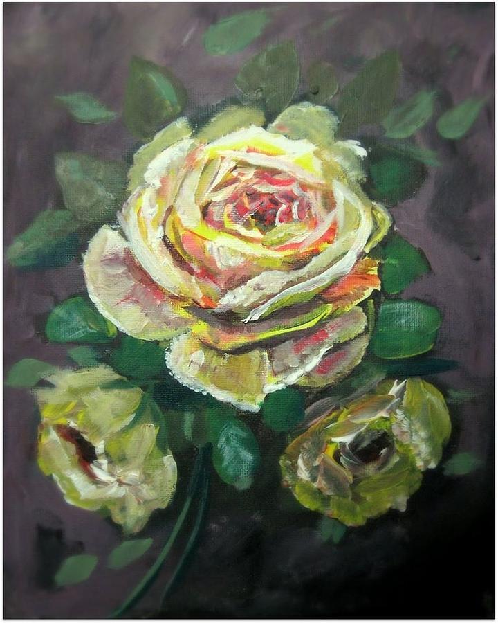 YELLOW ROSE by Mike Benton