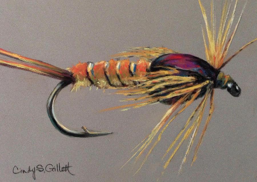 Yellow Sally Stonefly Nymph Painting