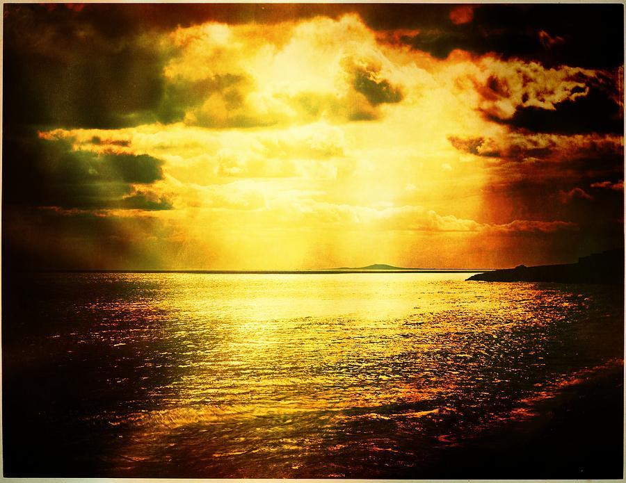 Landscape Photograph - Yellow Sea by Jean-baptiste Ols