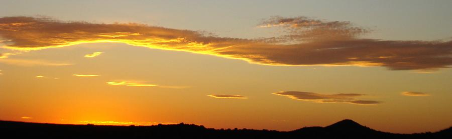 Sunset Photograph - Yellow Sky Three by Ana Villaronga