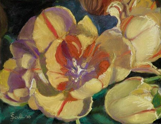 Yellow Tulips by Judith Scull