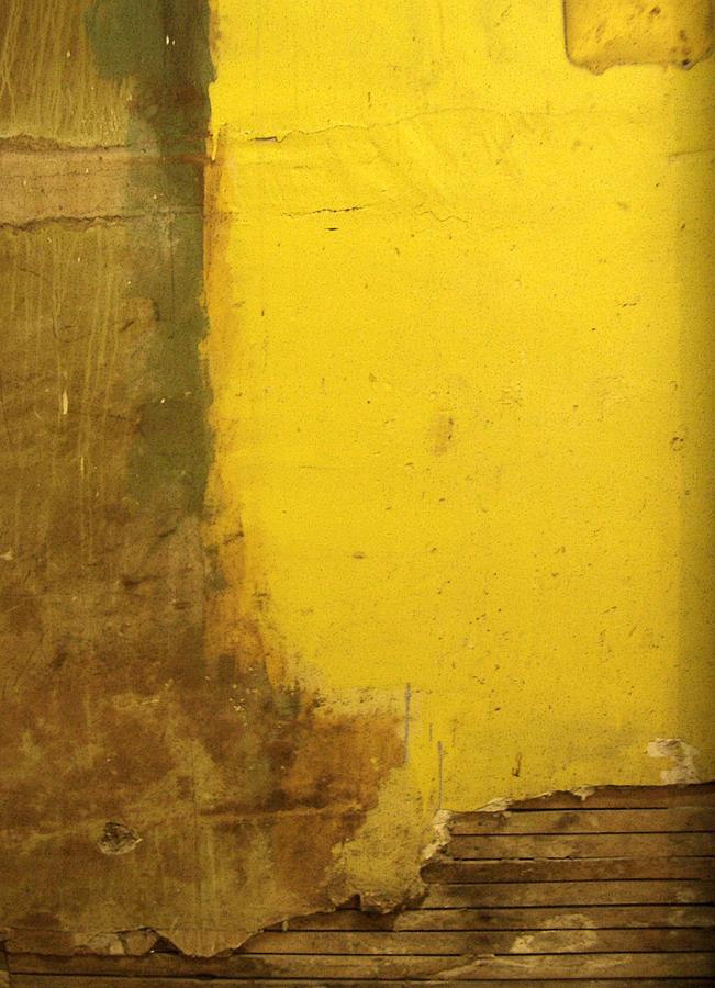 Yellow Photograph - Yellow Wall by Tim Nyberg