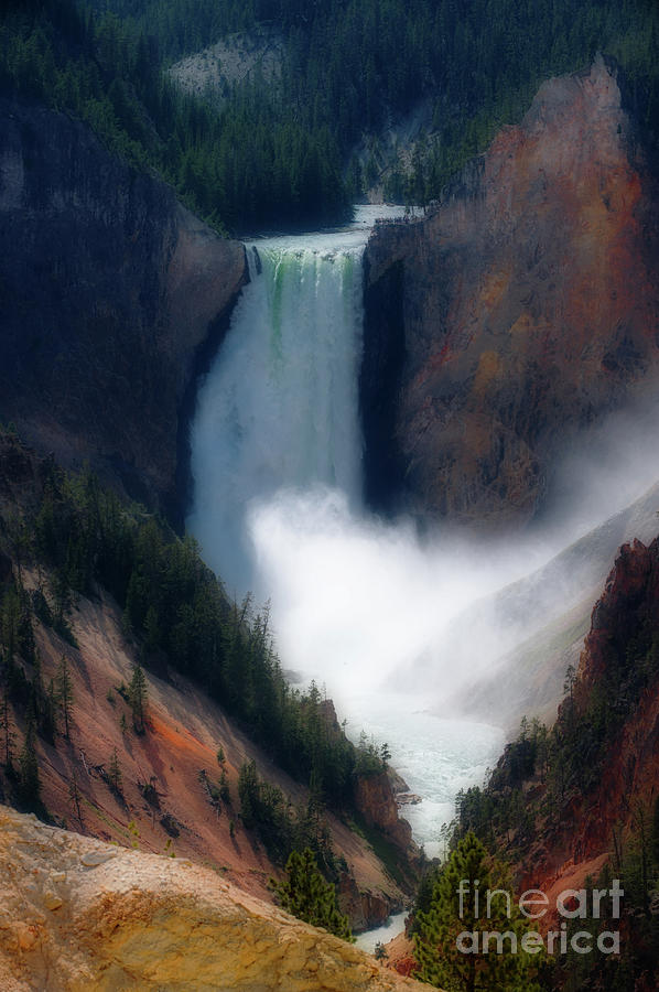 Yellowstone Falls by Jim Hatch