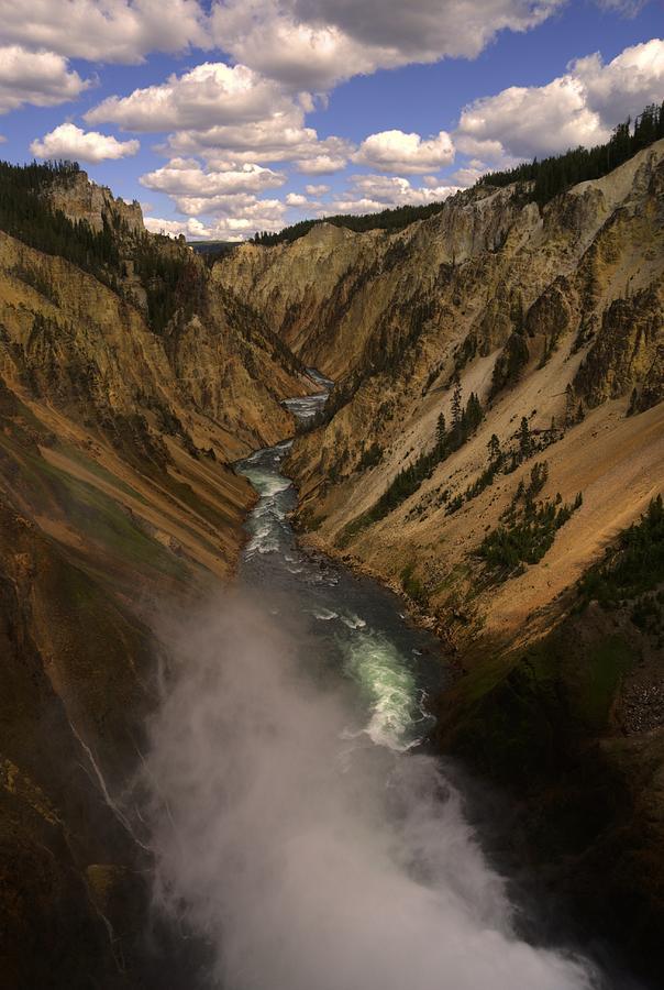 Yellowstone Photograph - Yellowstone Grand Canyon by Patrick  Flynn
