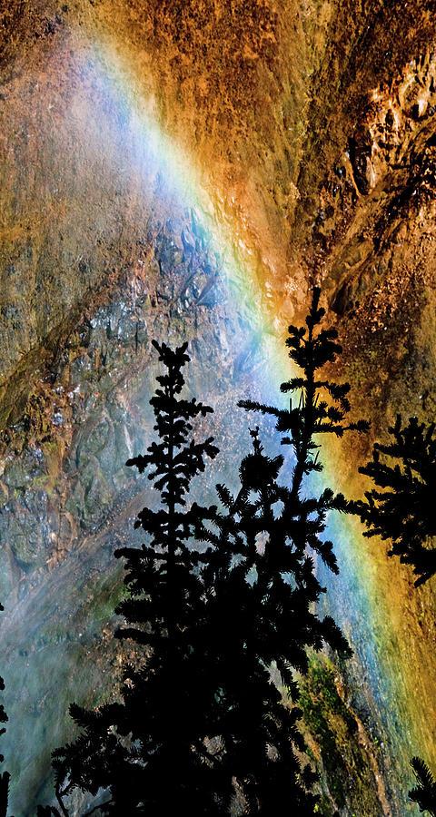 Yellowstone National Park Photograph - Yellowstone Rainbow by Norman Hall
