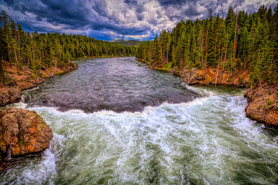 Yellowstone River Unchecked by John M Bailey