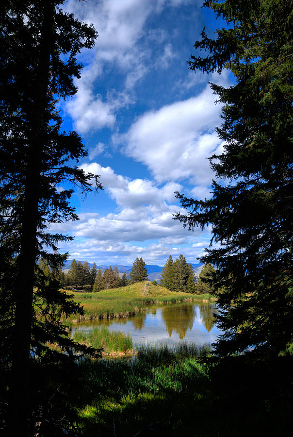National Parks Photograph - Yellowstone Sky by Patrick  Flynn