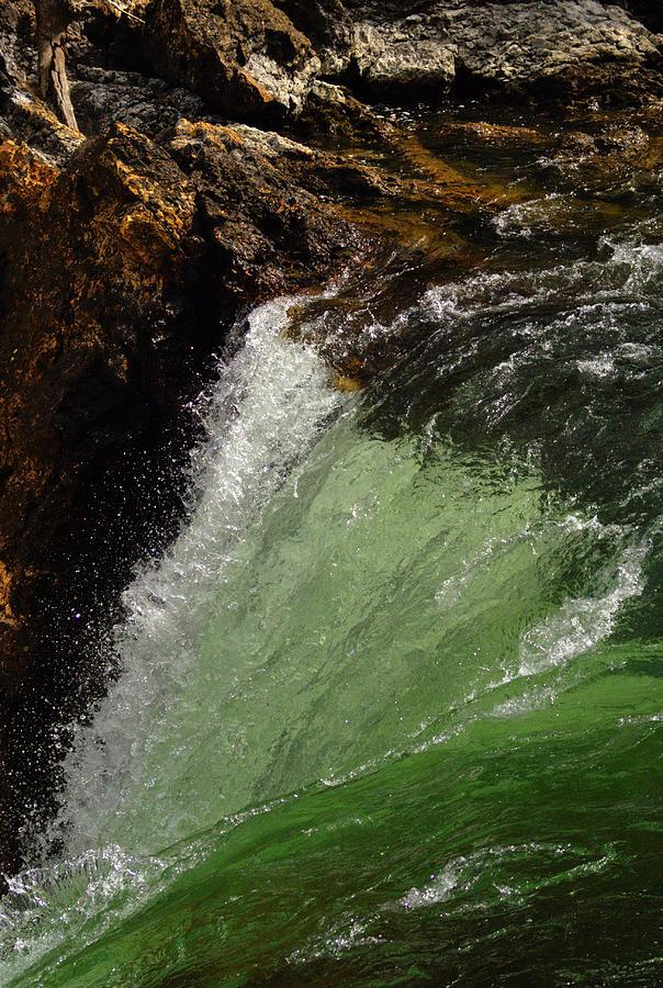 Falls Photograph - Yellowstone Upperfalls by Patrick  Flynn