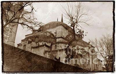 Istanbul Photograph - Yeni Camii by K Randall Wilcox