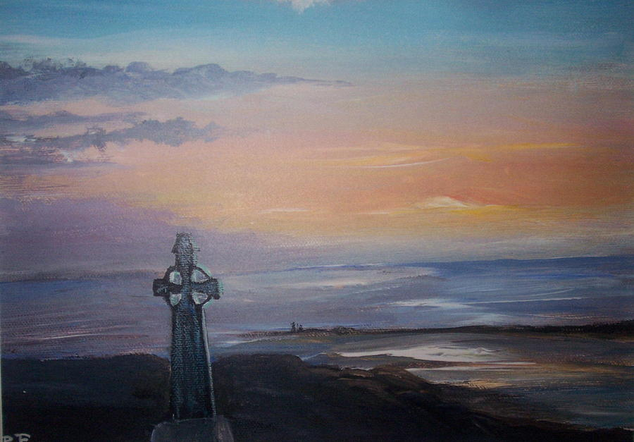 Ireland Painting - Yes This Is Ireland  by Richard Finnell