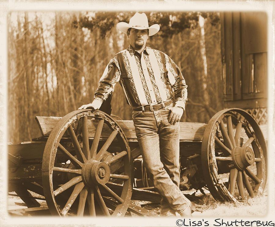 Yesterdays Cowboy Photograph by Lisa Johnston