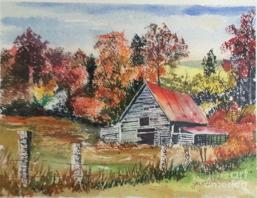 Barn Painting - Yesterdays Enterprise by Glen Ward
