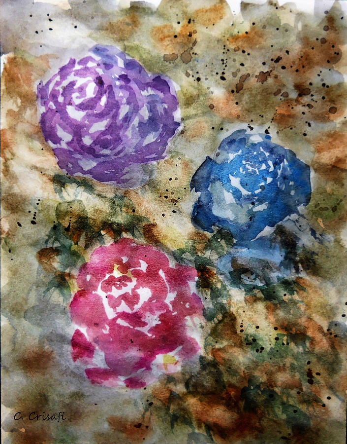 Yesteryear Roses by Carol Crisafi