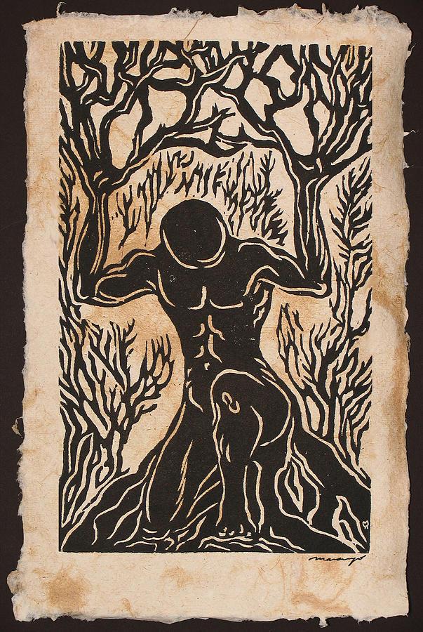 Figures Relief - Yggdrasil by Maria Arango Diener