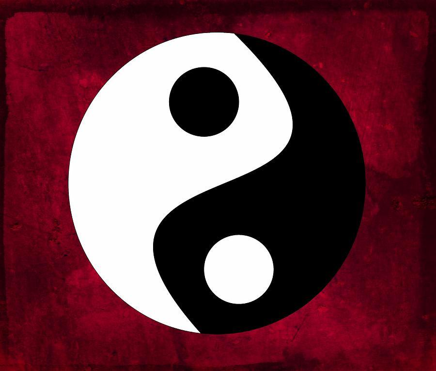 Yin And Yang Digital Art