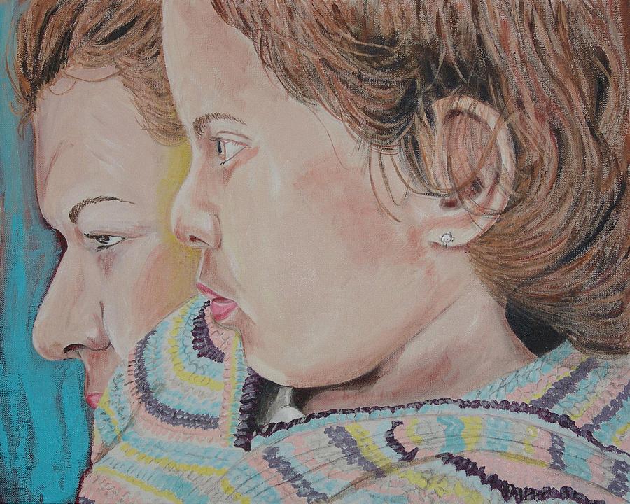 Kevin Callahan Painting - Yo De Nuevo by Kevin Callahan