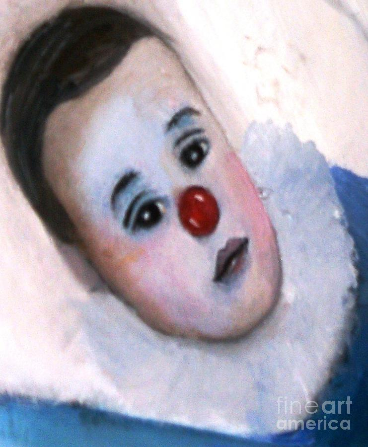 Clown Painting - YO by Patricia Velasquez de Mera