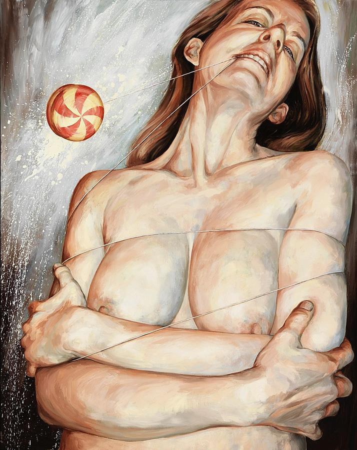 Nude Painting - Yo-Yo by Joyce Polance