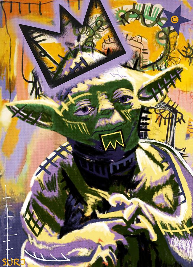 Yoda Mixed Media - Yoda 1981 by Surj LA