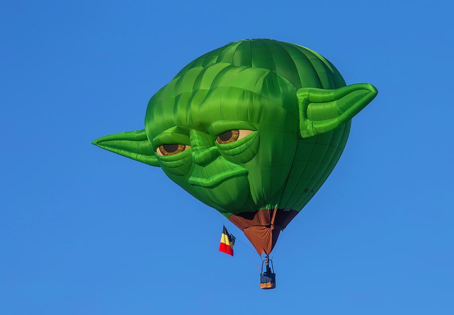 Yoda Hot Air Balloon. Garry Gay
