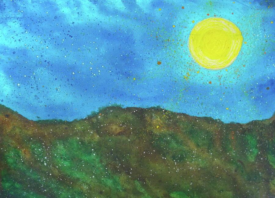 Yokun Ridge Painting by Scott Harrington