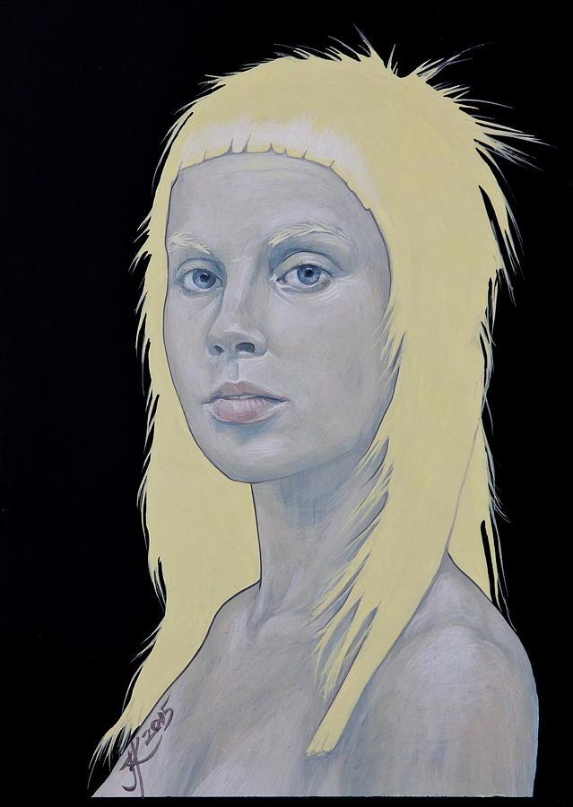 Yolandi Painting - Yolandi by Jovana Kolic