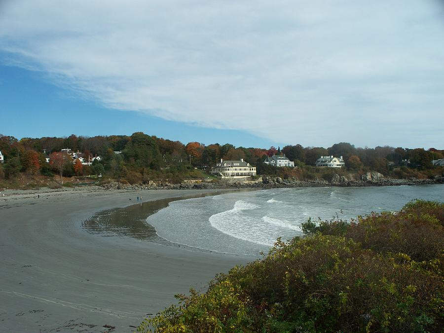 Seascape Photograph - York Beach  Maine by Rosanne Bartlett