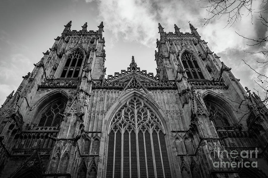 York minster photograph by karen hudspith