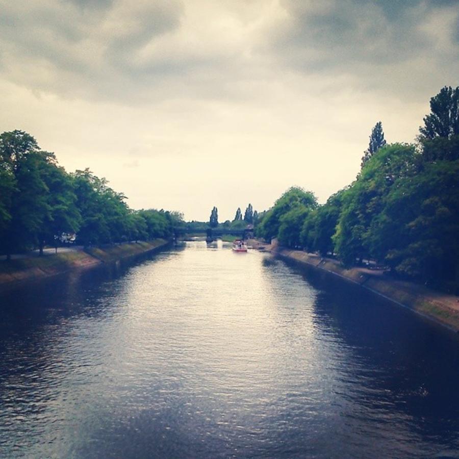 Travel Scenery: York #riverview #scenery #travel Photograph By Reecedaniel