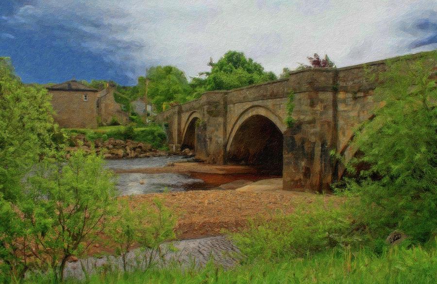 Bridge Painting - Yorkshire Bridge - P4a16015 by Dean Wittle