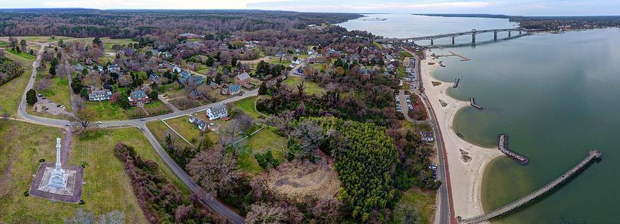 Yorktown Photograph - Yorktown in Spring by Tredegar DroneWorks
