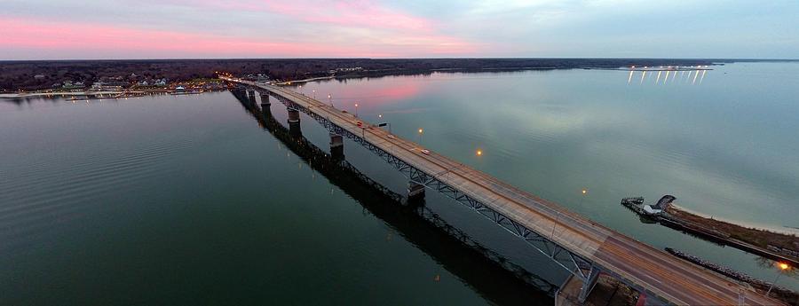 Yorktown Photograph - Yorktown Sunset by Tredegar DroneWorks