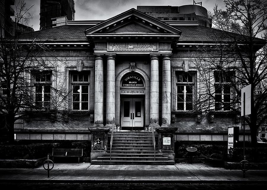 Yorkville Public Library Toronto Canada Photograph