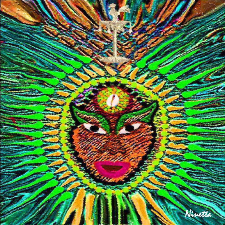 Orishas Digital Art - Yoruba Collection  Orula by Andrea N Hernandez