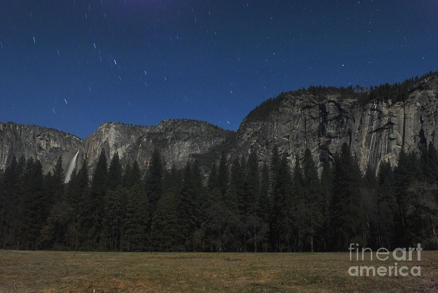 Landscape Photograph - Yosemite At Night by Richard Verkuyl