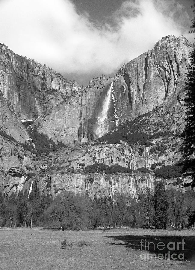 Landscape Photograph - Yosemite Falls by Richard Verkuyl