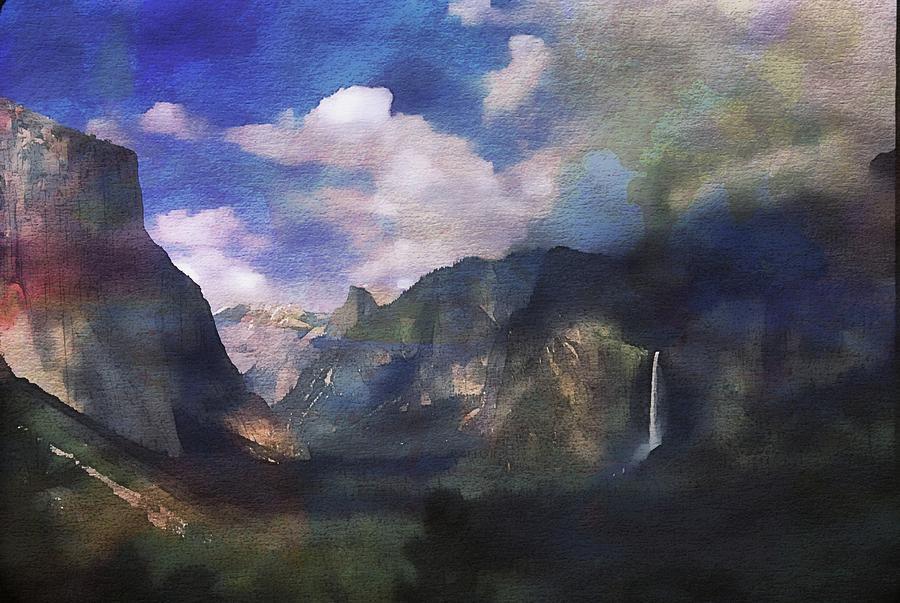 Yosemite H2O Color by Russ Considine