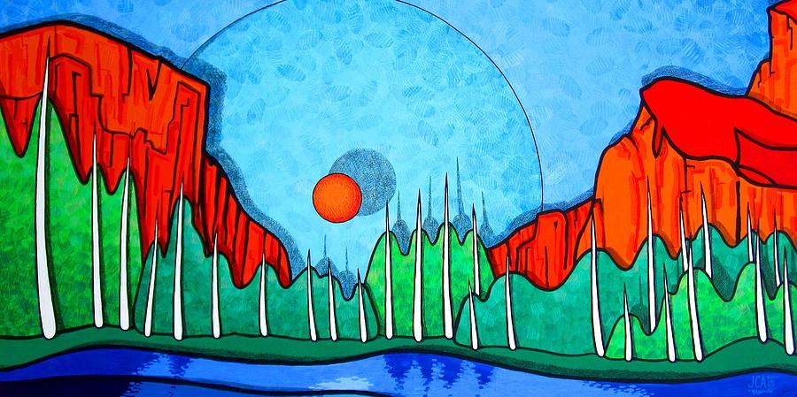Landscape Painting - Yosemite by Jason Charles Allen