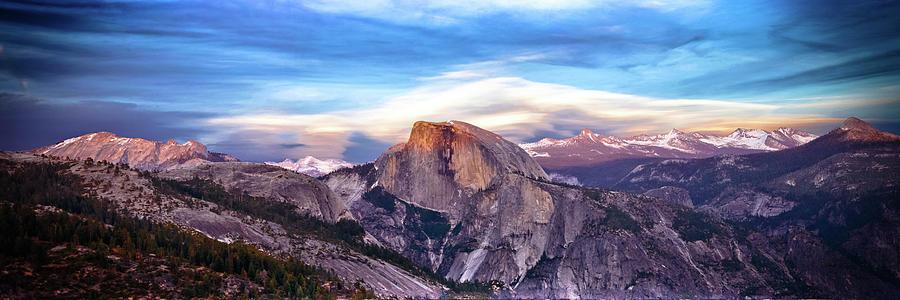 Yosemite Pano by Nicholas Miller