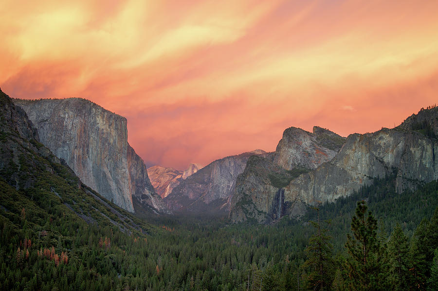 Yosemite - Red Valley Photograph